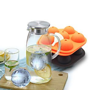 cheap Drinkware-Multifountion Basketball Ice Lattice Freeze Mold Pudding Chocolate Maker Mold Cube DIY Food Cookie Cake Stencil Doughnut Mould