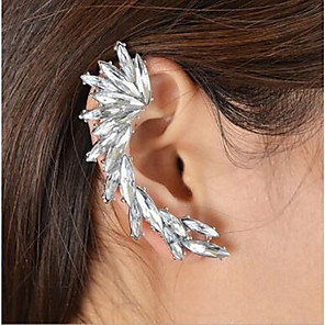 cheap Earrings-Women's Clip on Earring Mismatched Love Earrings Jewelry Silver For Wedding Party Daily Festival 1pc