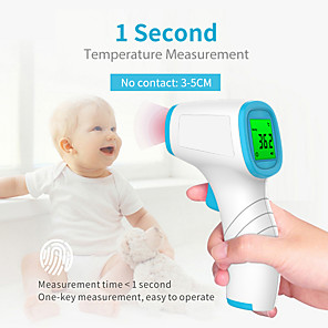 cheap Personal Protection-Non-Contact Infrared Thermometer Forehead Digital Thermometer Portable Handheld Thermometer Temperature Instruments with CE & FDA Approved for Adult / Baby