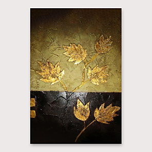 cheap Abstract Paintings-IARTS®Hand Painted Botany Oil Painting   with Stretched Frame For Home Decoration