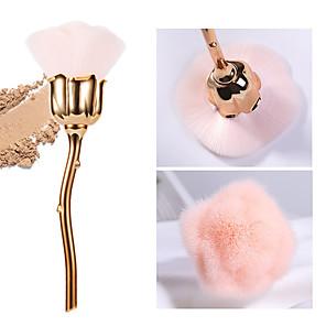 cheap Abstract Paintings-Manicure dust brush pink hair rose flower type brush manicure brush nail trim cleaning brush loose powder brush blush brush