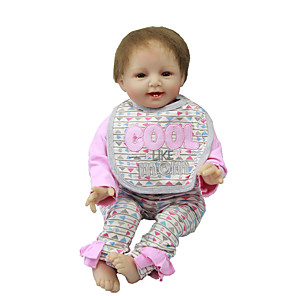 cheap Stuffed Animals-Reborn Baby Dolls Clothes Reborn Doll Accesories Cotton Fabric for 22-24 Inch Reborn Doll Not Include Reborn Doll Creative Soft Pure Handmade Girls' 3 pcs