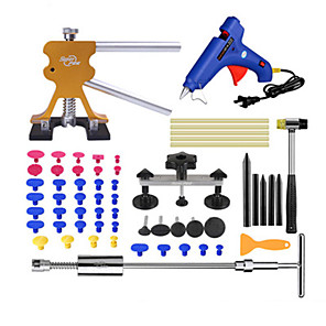 cheap Vehicle Repair Tools-Super PDR-G-348 Slide Hammer Rubber Hammer Glue Gun Glue Sticks Tap Down Pen LED Line Board Car Body Dent Damage Repair Tools Auto