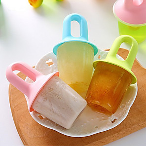 povoljno Sokovnici-1pcs 2pcs 3pcs kreativni diy netoksični popsicle sorbet sladoled kalup domaće smrznute kocke leda sladoled kutija sladoled