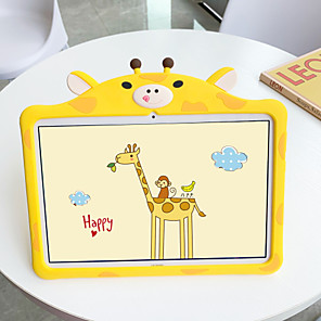 cheap iPad case-Case For Apple iPad 10.2 2019 iPad Air iPad Air 2 iPad Pro 12.9 iPad Pro 11 iPad Pro 10.5 iPad Pro 9.7 iPad 2 3 4 with Stand Pattern Back Cover Animal Cartoon Silica Gel