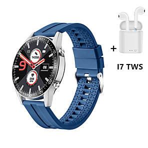 cheap Smartwatches-GT10 1.3inch Full-round Touch Screen 24h Heart Rate Blood Pressure Oxygen Monitor Music Contorl Weather Push Smart Watch