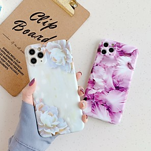 cheap iPhone Cases-Case For Apple iPhone 11 / iPhone 11 Pro / iPhone 11 Pro Max Pattern Back Cover Flower TPU