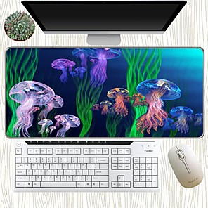 cheap Mouse Pad-300*800*3mm Gaming Mouse Pad Basic Mouse Pad Large Size Desk Mat Office Use Rubber Dest Mat