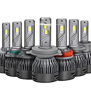 abordables Reproductores DVD para Coche-otolampara 2pcs bombillas de coche 45 w csp 8000 lm 2 faros led para universal todos los modelos 2018/2017/2019