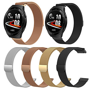 cheap Smartwatch Bands-Milanese Loop Stainless Steel Watch Band for Huawei Watch GT / Huawei Watch GT 2e  Steel Replace Mesh Band Strap for Huawei Watch GT / Huawei Watch GT 2