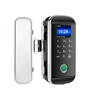 cheap Door Locks-LITBest ABS+PC Fingerprint Lock / Intelligent Lock / Password lock Smart Home Security System Fingerprint unlocking / Password unlocking Office Security Door / Composite Door (Unlocking Mode