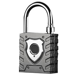cheap Door Locks-Intelligent Fingerprint Padlock Large Outdoor Waterproof Lock Warehouse Door Dormitory Logistics Vehicle Anti-Theft Password Loc