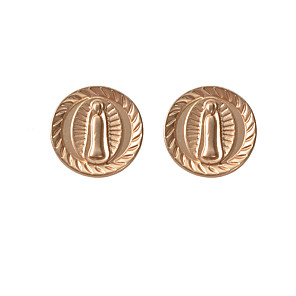 cheap Anime Costumes-Women's Stud Earrings Geometrical Fashion Earrings Jewelry Gold For Date Festival