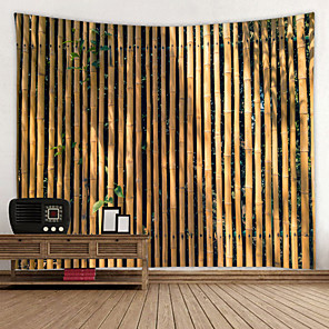 cheap Wallpaper-Beautiful Bamboo Wall Background Digital Printed Tapestry Decor Wall Art Tablecloths Bedspread Picnic Blanket Beach Throw Tapestries Colorful Bedroom Hall Dorm Living Room Hanging