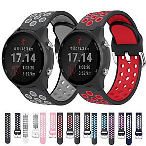 cheap Smartwatch Bands-Sport Silicone Wrist Strap Watch Band for Garmin Vivoactive 3 Music / Forerunner 245 Music / Forerunner 645 Music / Venu / Vivomove HR / Vivoactive 4 / Fenix Chronos Replaceable Bracelet Wristband