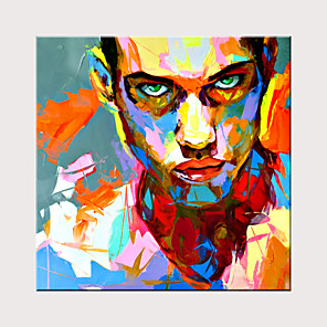 cheap People Paintings-Classic Art Reproduction Pop Art Portrait Oil Painting Hand Painted Home Wall Decorative Art
