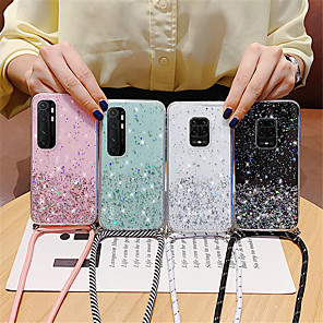 cheap iPhone Cases-Sparkle Glitter Strap Cord Chain Phone Necklace Lanyard Case For Huawei Honor 30 30Pro 20 20Pro Mate 30 20Pro P40 P30Pro p20 Nova 7 7Pro 6SE 5 5iPro Y5P Y6P Y7P