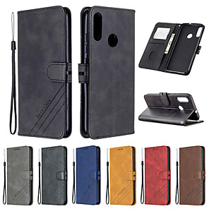 cheap Other Phone Case-For Motorola Moto E6 E6 Plus E6 Play Case Leather Flip Case on For Fundas Moto G8 G8Plus G8 Power Case MOTO G7 G7Power G6 G6Plus Z4Play Etui Magnetic Wallet Cover