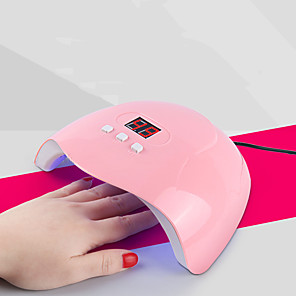 cheap Nail Dryer & Lamp-Nail Dryer 54W Professional Nail Dryer/Nail Curing Light 3 Timer Setting with Timer Setting Professional Gel Lamp Infrared Sensor with 18pcs LEDs Fast Shipping