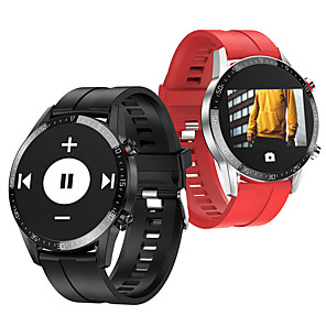 cheap Smartwatches-BoZhuo L13 Men Women Smartwatch Android iOS 1.3 IPS Full Touch Screen Fashionable IP68 Swimming Waterproof Pedometer Sleep Monitor Heart Rate Bluetooth Call Sports FitnessTracker Smart Watch