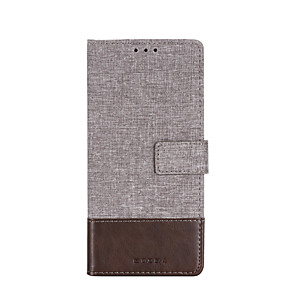 cheap Xiaomi Case-Case For Xiaomi Pocophone F1 note10 note10pro redmi4a redmi4x redmi note4x redmi5 redmi5a redmi5plus redmi note5a redmi note5pro redmi6 Card Holder Flip Magnetic Full Body Cases Solid Colored Canvas