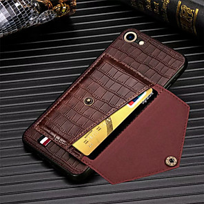 cheap iPhone Cases-Crocodile Pattern Phone Case For iPhone SE 2020  11 11Pro 11Pro Max PU Leather Card Slots Wallet for iPhone X XS XR XS Max 8Plus 8 7Plus 7 6Plus 6 6sPlus 6s Case
