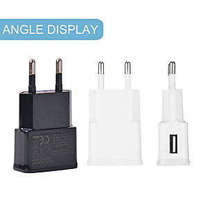cheap Wall Chargers-Fast Charging Universal Single USB port phone Charger 7100 Travel Charger Adapter Portable EU Plug For cellphones