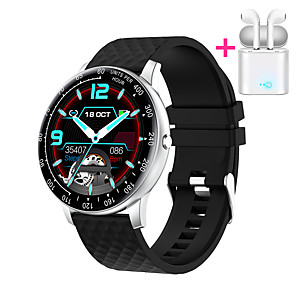 cheap Smartwatches-JSBP HP30 Smart Watch BT Fitness Tracker Support Notify Full Touch Screen/Heart Rate Monitor Sport Stainless Steel Bluetooth Smartwatch Compatible Apple IOS/Samsung Android Phones