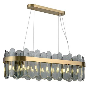 povoljno LED Strip svjetla-QIHengZhaoMing 80 cm Otok dizajn Privjesak Svjetla Acrylic Moderna 110-120V 220-240V