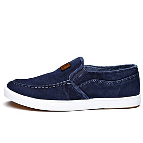 cheap Men's Slip-ons & Loafers-Men's Summer Daily Sneakers PU Dark Blue / Gray / Light Blue