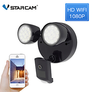 cheap Indoor IP Network Cameras-Vstarcam FC2 Floodlight Ip Two-way Camera Audio Call Wifi Ip66 Camera Waterproof Flood Sensor Motion Detection