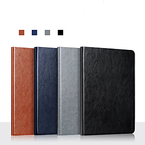 cheap iPad case-Case For Apple iPad Mini 1  iPad Mini 2  iPad Mini 3  iPad Mini 4  iPad Mini 5  360 Rotation  Shockproof  Magnetic Full Body Cases Solid Colored PU Leather  TPU