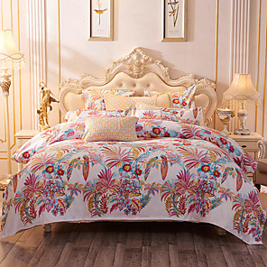 cheap Wallpaper-4 Pieces Duvet Cover Bedding Set -Ultra Comfy Breathable Zipper Easy Care