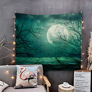 cheap Wall Tapestries-Home Living Tapestry Wall Hanging Tapestries Wall Blanket Wall Art Wall Decor  Moon Tapestry Wall Decor