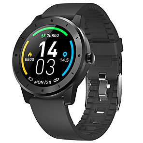 cheap Smartwatches-V200GPS Smart Watch Positioning Ip68 Waterproof Sports Pedometer Sleep / Heart Rate Full Circle Full Touch Bluetooth 2020 Watch