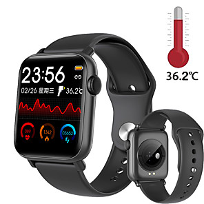 cheap Smartwatches-QS19 Smartwatch Waterproof Blood Pressure Heart Rate Monitor Smart Watch Sport Fitness Trakcer watches Men Women For Android IOS