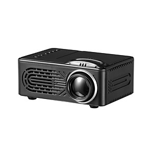 cheap Projectors-Mini LED Projector RD 814 supports 1080P HD 400Lumens with Multi-Interface USB AV TF House Media player 320x240 Pixels