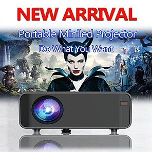 cheap Projectors-Led Projector 4200 Lux With 50000 Hrs Long Life Led Portable Home Theater Projector