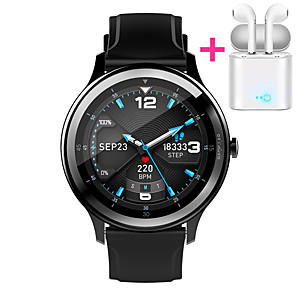 cheap Smartwatches-JSBP PG28 Men Women Smartwatch Custom dial Android iOS Bluetooth Waterproof Touch Screen Heart Rate Monitor Blood Pressure Measurement Sports Timer Stopwatch Pedometer Call Reminder Activity Tracker