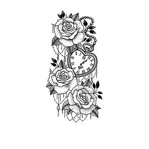 cheap Tattoo Stickers-XQB121-140 1 pcs Temporary Tattoos Water Resistant / New Design / Creative brachium Plastic Tattoo Stickers