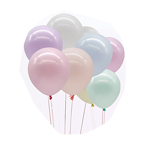 cheap Christmas Decorations-Party Balloons 200 pcs Macaron Party Supplies Latex Balloons Boys and Girls Party Wedding Birthday 5inch for Party Favors Supplies or Home Decoration