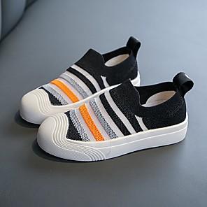 cheap Kids' Boots-Boys' / Girls' Comfort Knit Loafers & Slip-Ons Toddler(9m-4ys) / Little Kids(4-7ys) Black / Orange / Green Summer