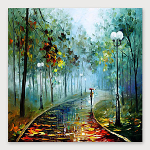 cheap Abstract Paintings-IARTS®Hand Painted Scenery is good. Oil Painting   with Stretched Frame For Home Decoration
