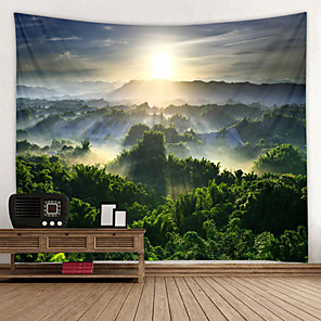 cheap Wall Tapestries-Chaoyang Scenery Digital Printed Tapestry Decor Wall Art Tablecloths Bedspread Picnic Blanket Beach Throw Tapestries Colorful Bedroom Hall Dorm Living Room Hanging