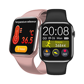 cheap Smartwatches-W98S Smart Watch Bluetooth Call Temperature ECG Heart Rate Monitor Smartwatch With i7s TWS Wireless Earphones Bluetooth Headphones