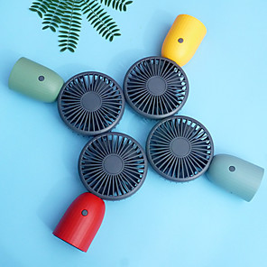 cheap Testers & Detectors-Air Cooling Fan Handheld Fan Portable Cute Low Noise Multifunction Cool and Refreshing Wind Speed Regulation Lightweight ABS Chargeable For Travel Gift Daily
