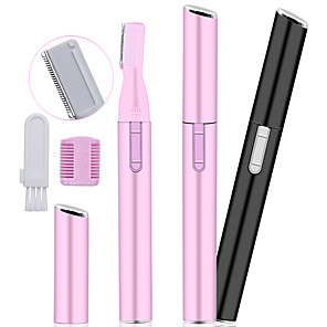 Недорогие Уход за лицом-электрическое лицо брови ножницы триммер для волос мини портативный женщины для удаления бритвы для тела лезвие бритвы эпилятор