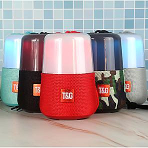 cheap Portable Speakers-Portable LED Flash Bluetooth Speaker Mini Outdoor Subwoofer Stereo Surround 1200 MAh Music Box FM Radio Night Light Accessories
