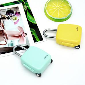 cheap Door Locks-Code Lock Fashion Mini Cute Cartoon Luggage Zipper Notebook Padlock