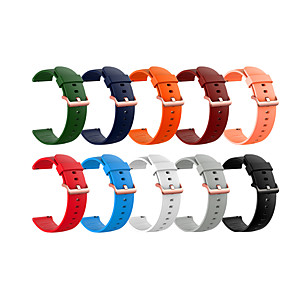 cheap Smartwatch Bands-Watch Band for Huawei Watch 2 Pro / Huawei Watch GT 2 / GT 2e / Huawei Watch GT2 46mm / MagicWatch 2 46MM Huawei Sport Band / Classic Buckle Silicone Wrist Strap